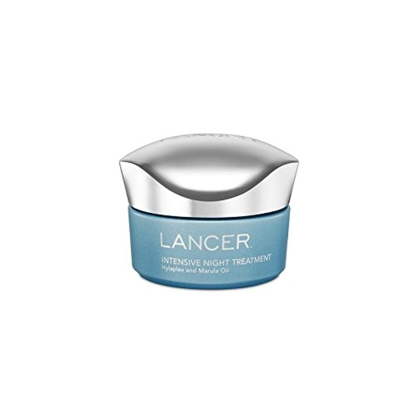 スポーツをする夫重量ランサースキンケア集中的な夜の治療(50ミリリットル) x4 - Lancer Skincare Intensive Night Treatment (50ml) (Pack of 4) [並行輸入品]