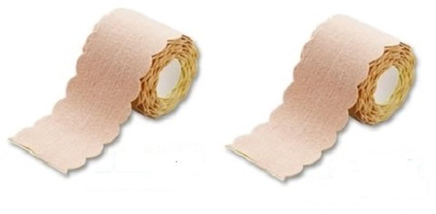 パケットゆりかご頑固な汗取りパッド ワキに直接貼る汗とりシート ロールタイプ 3m 2個セット(たっぷり6m 特別お得セット) 直接貼るからズレない?汗シート!脇汗ジミ わき汗 対策