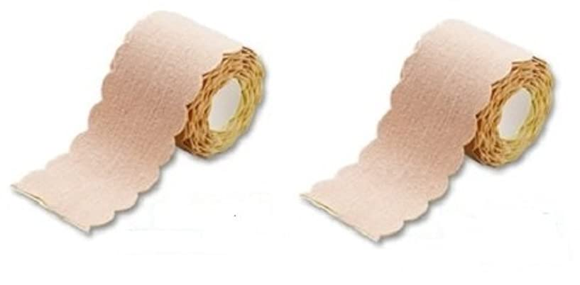 静める直感会計汗取りパッド ワキに直接貼る汗とりシート ロールタイプ 3m 2個セット(たっぷり6m 特別お得セット) 直接貼るからズレない?汗シート!脇汗ジミ わき汗 対策