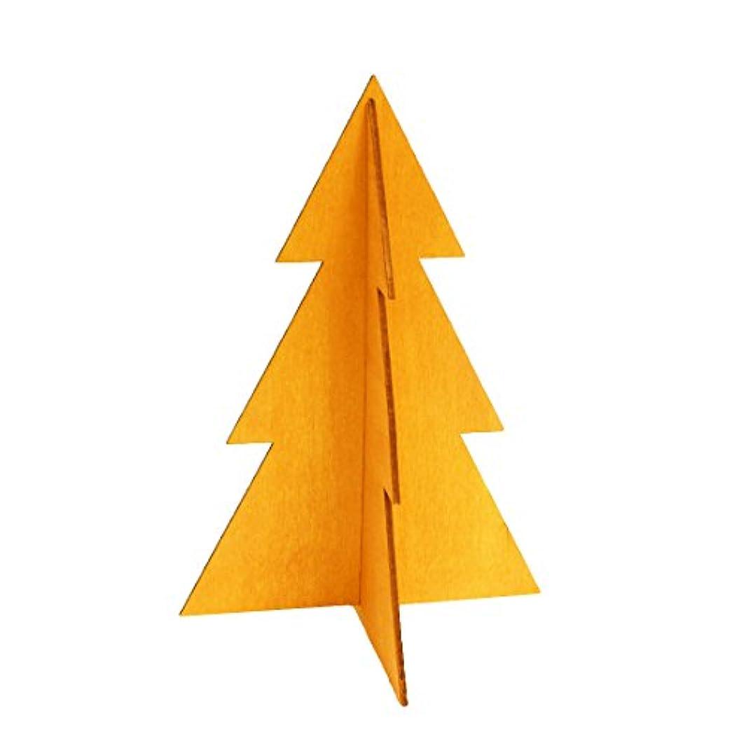 省略病的印象的なフェスティブツリーM 「 オレンジ 」