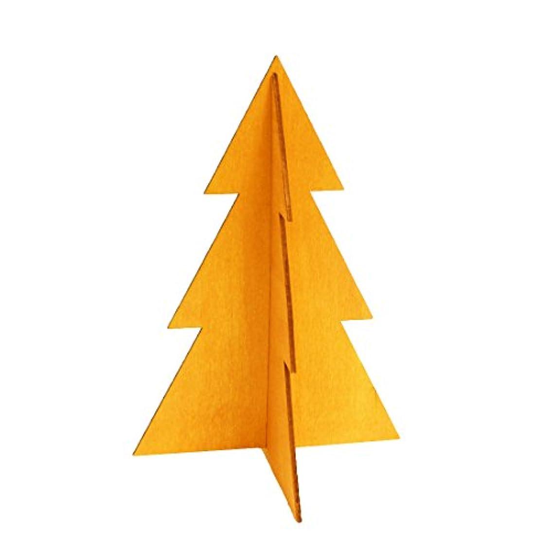 欺く溶けた挽くフェスティブツリーM 「 オレンジ 」