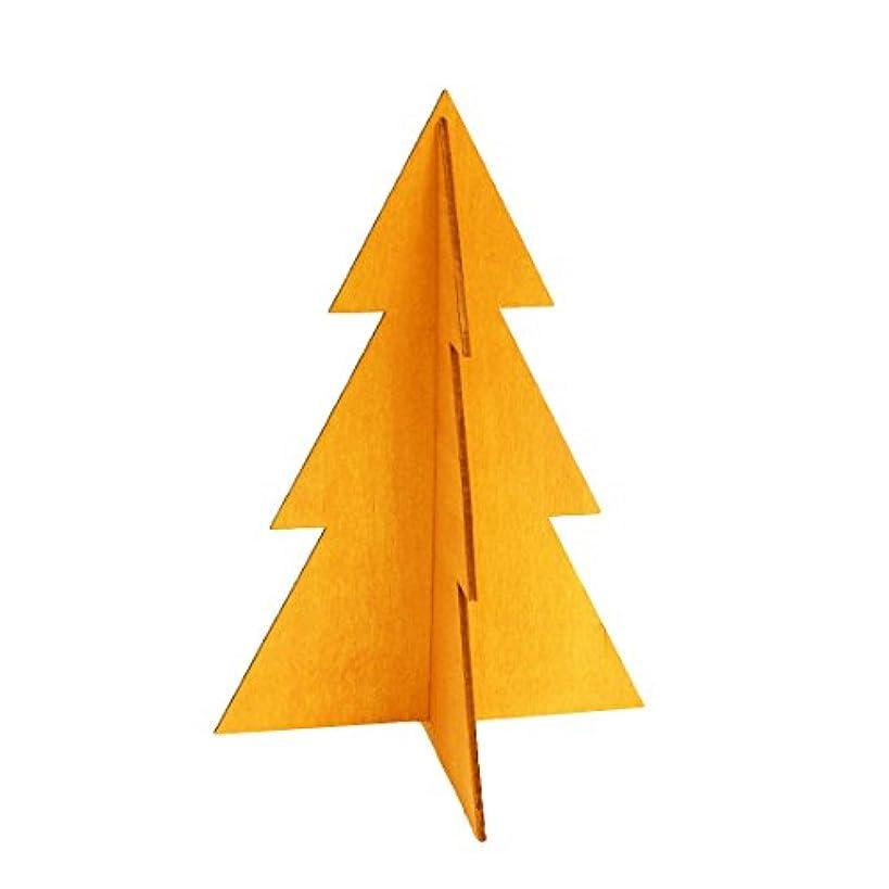 ネックレットバッフルポータブルフェスティブツリーM 「 オレンジ 」
