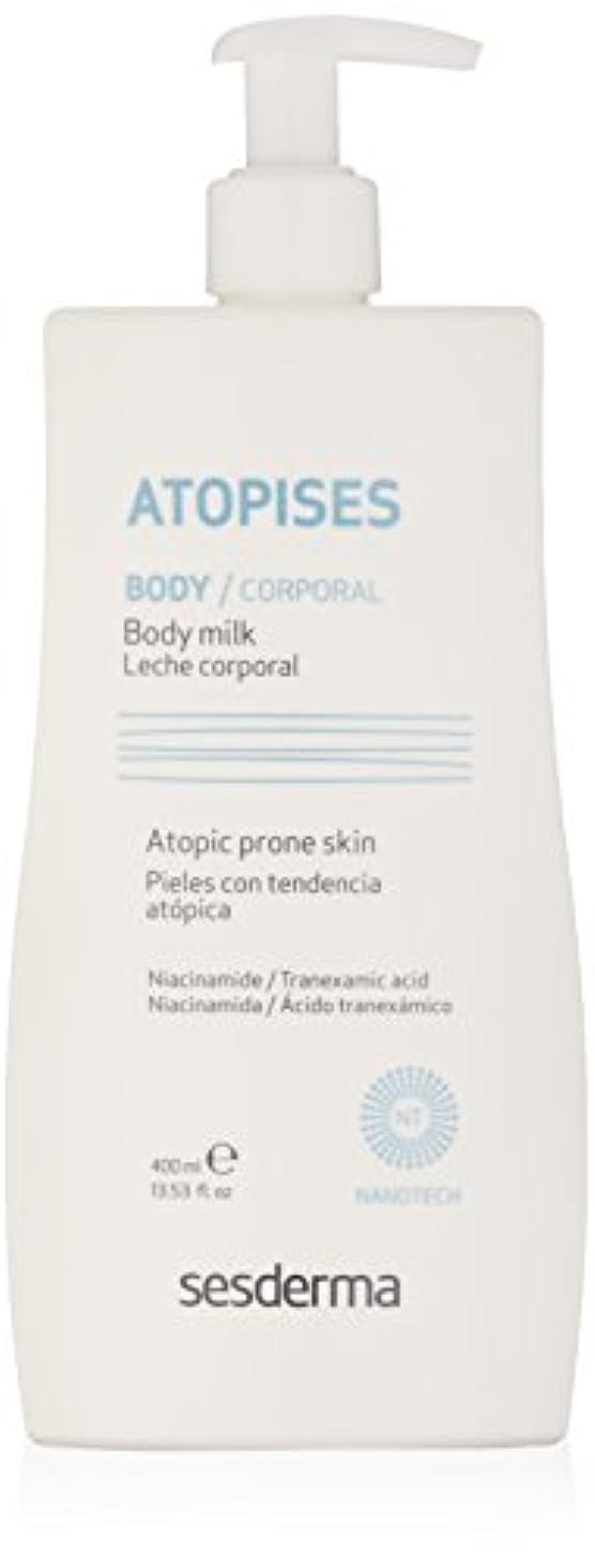 腹部兵器庫長方形Sesderma Atopises Body Milk 400 Ml