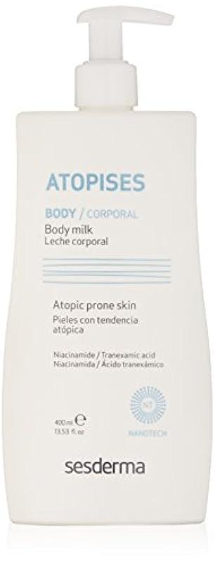 区別スキム剪断Sesderma Atopises Body Milk 400 Ml