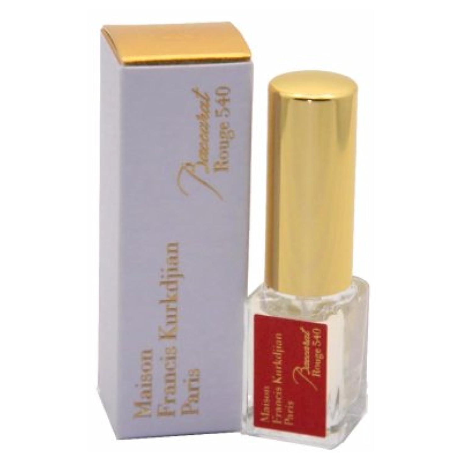 遊びますピストン資料メゾン フランシス クルジャン バカラ ルージュ 540 オードパルファン トラベルサイズ 5ml(Maison Francis Kurkdjian Baccarat Rouge 540 EDP Spray Mini 5ml...