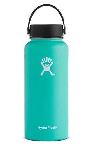 Hydro Flask W32TS435 Mouth 32 oz. Wide Water Bottle (946 ml), Mint