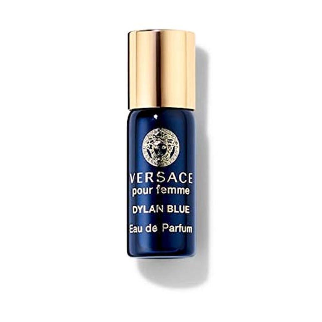 変位有効化仲介者Versace Dylan Blue (ヴェルサーチ) 0.1 oz (3ml) EDP Mini Rollerball(ミニロールオン) by Versace for Women
