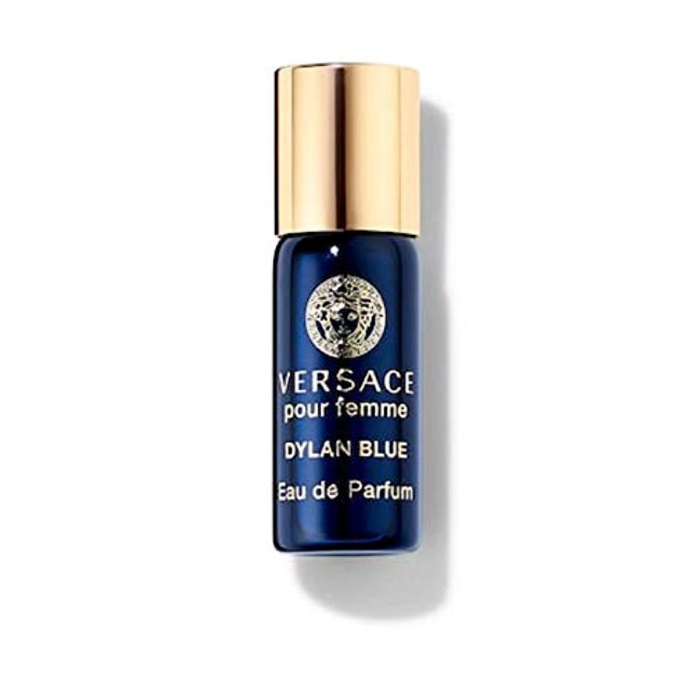 少なくとも所持麻痺Versace Dylan Blue (ヴェルサーチ) 0.1 oz (3ml) EDP Mini Rollerball(ミニロールオン) by Versace for Women