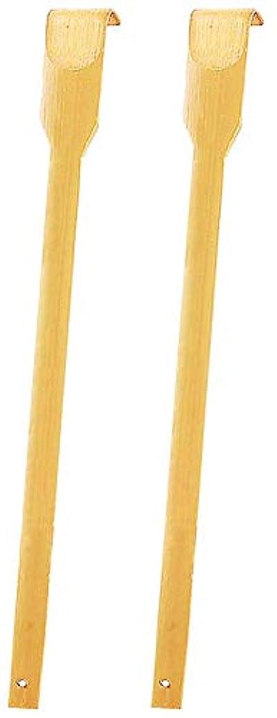 流暢固執コレクションRENOOK 竹木孫の手二本 海外デザイン 可愛いパンダの大好物の矢竹で作られ 天然無害 背中かゆみ止め 体をリラックス 家族と友人への素敵なプレゼント43センチ