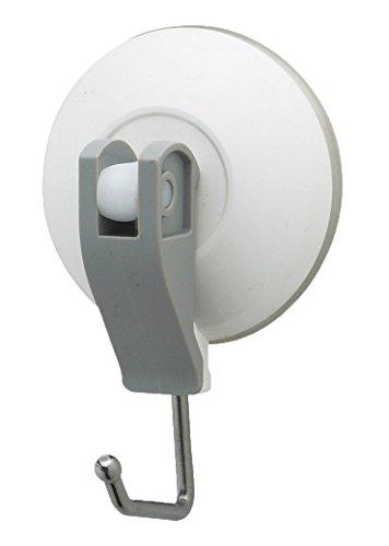 レバー式吸盤フック ホワイト(中サイズ)