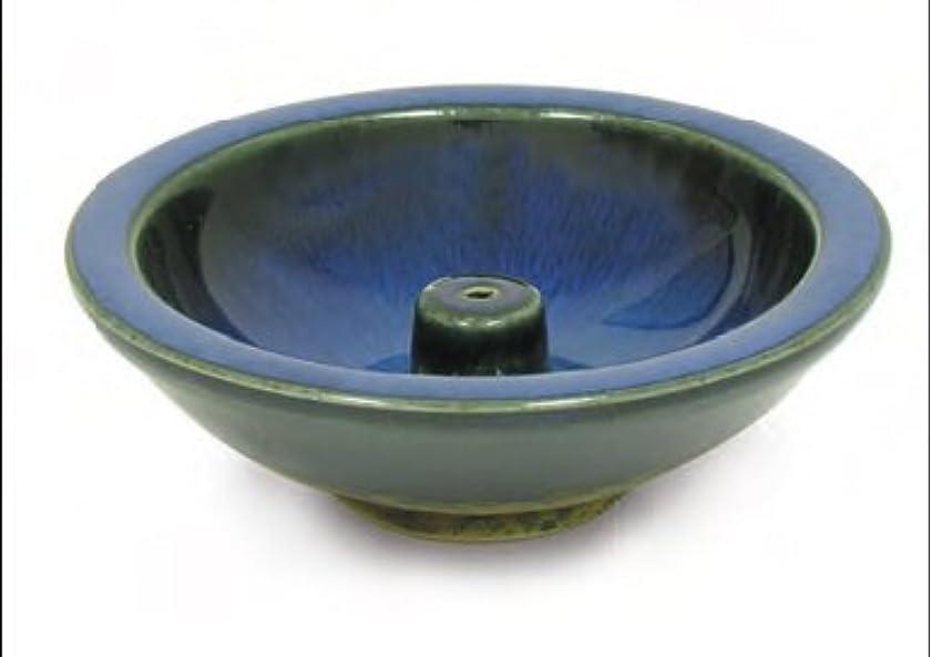 画面サーキットに行く騙すShoyeido's Denim Round Ceramic Incense Holder