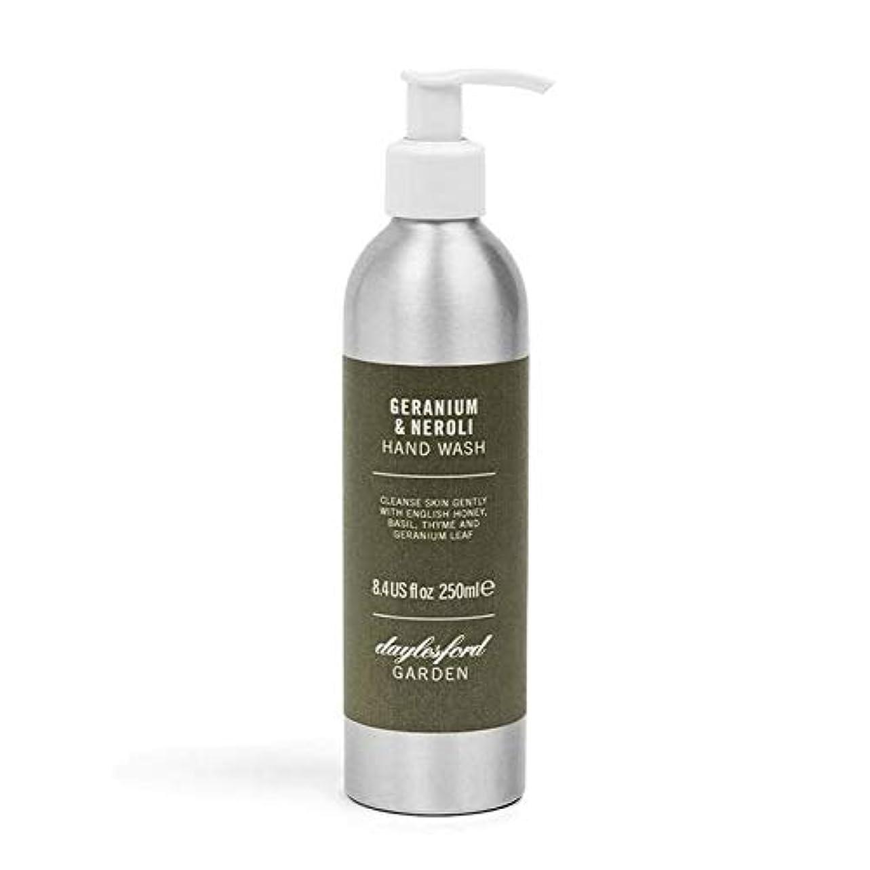 眩惑するブロック輝く[Daylesford ] デイルスフォードの自然ゼラニウム&ネロリのハンドウォッシュ250ミリリットル - Daylesford Natural Geranium & Neroli Hand Wash 250ml [並行輸入品]