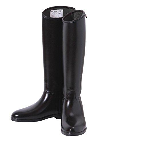 [해외]Shires (샤이어) 방수 고무 롱 부츠 블랙/Shires (Shire) Waterproof Rubber Long Boots Black