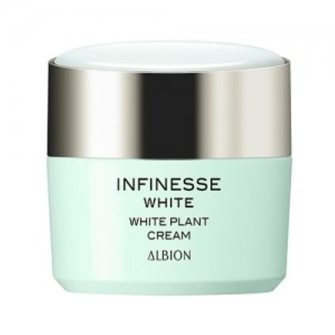 引退するより良い資金アルビオン アンフィネスホワイト ホワイト プラント クリーム 30g