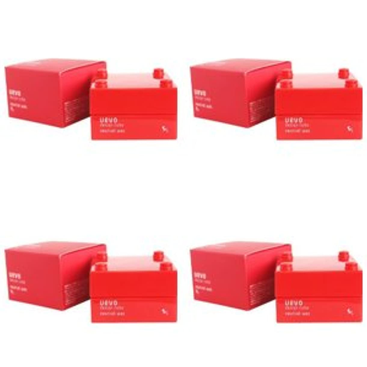 支出童謡裏切る【X4個セット】 デミ ウェーボ デザインキューブ ニュートラルワックス 30g neutral wax DEMI uevo design cube