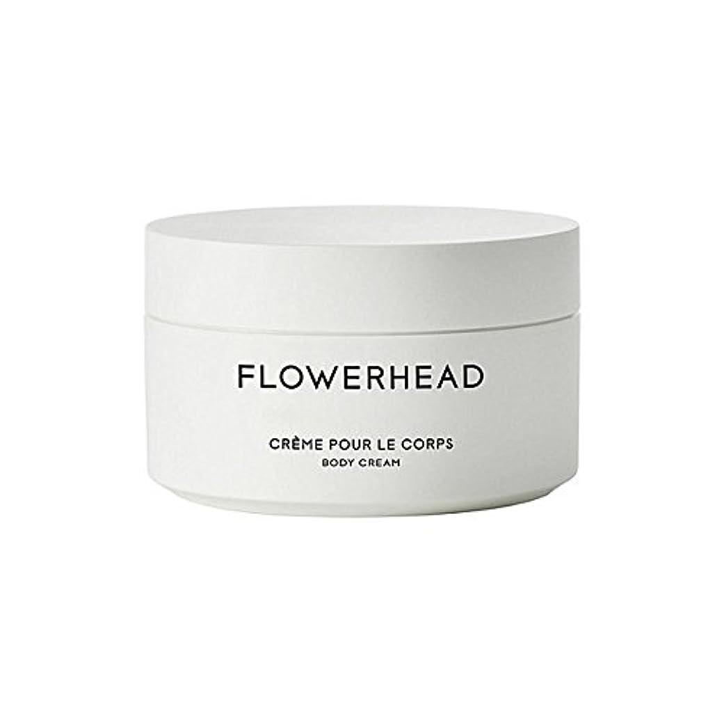 すべき凝視連帯ボディクリーム200ミリリットル x2 - Byredo Flowerhead Body Cream 200ml (Pack of 2) [並行輸入品]