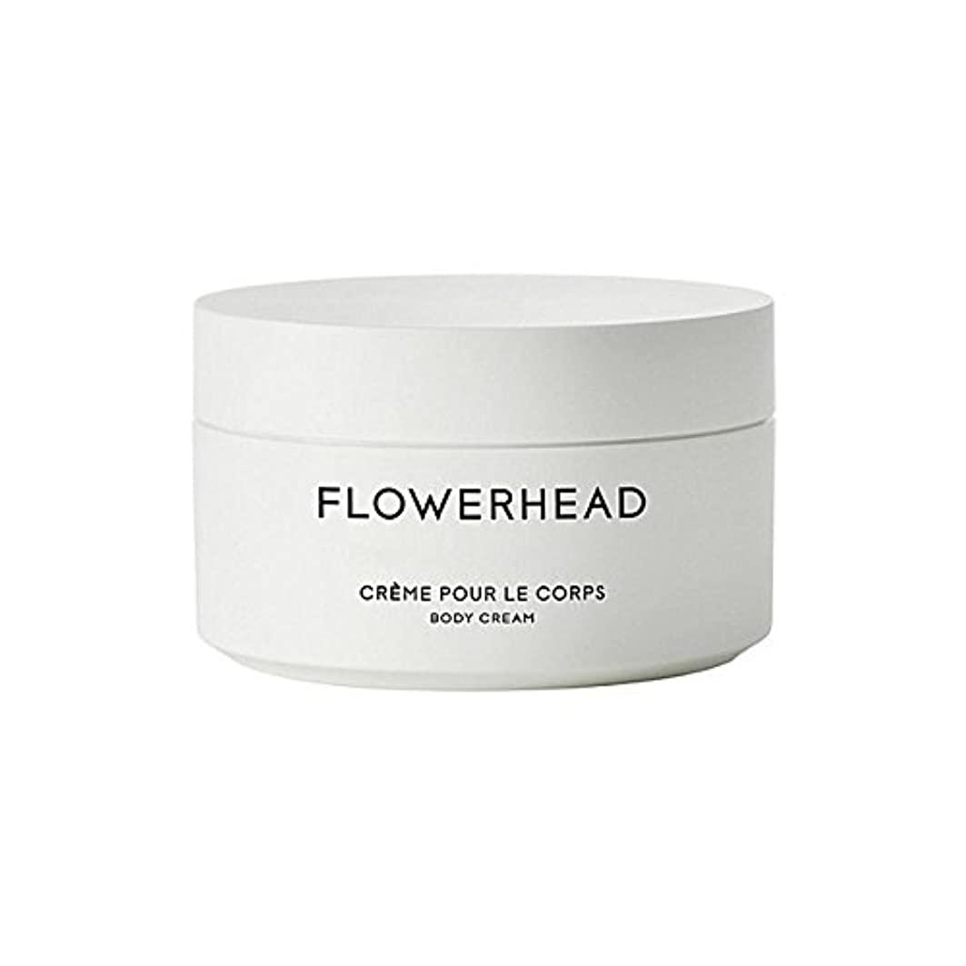 販売計画見物人みすぼらしいボディクリーム200ミリリットル x4 - Byredo Flowerhead Body Cream 200ml (Pack of 4) [並行輸入品]