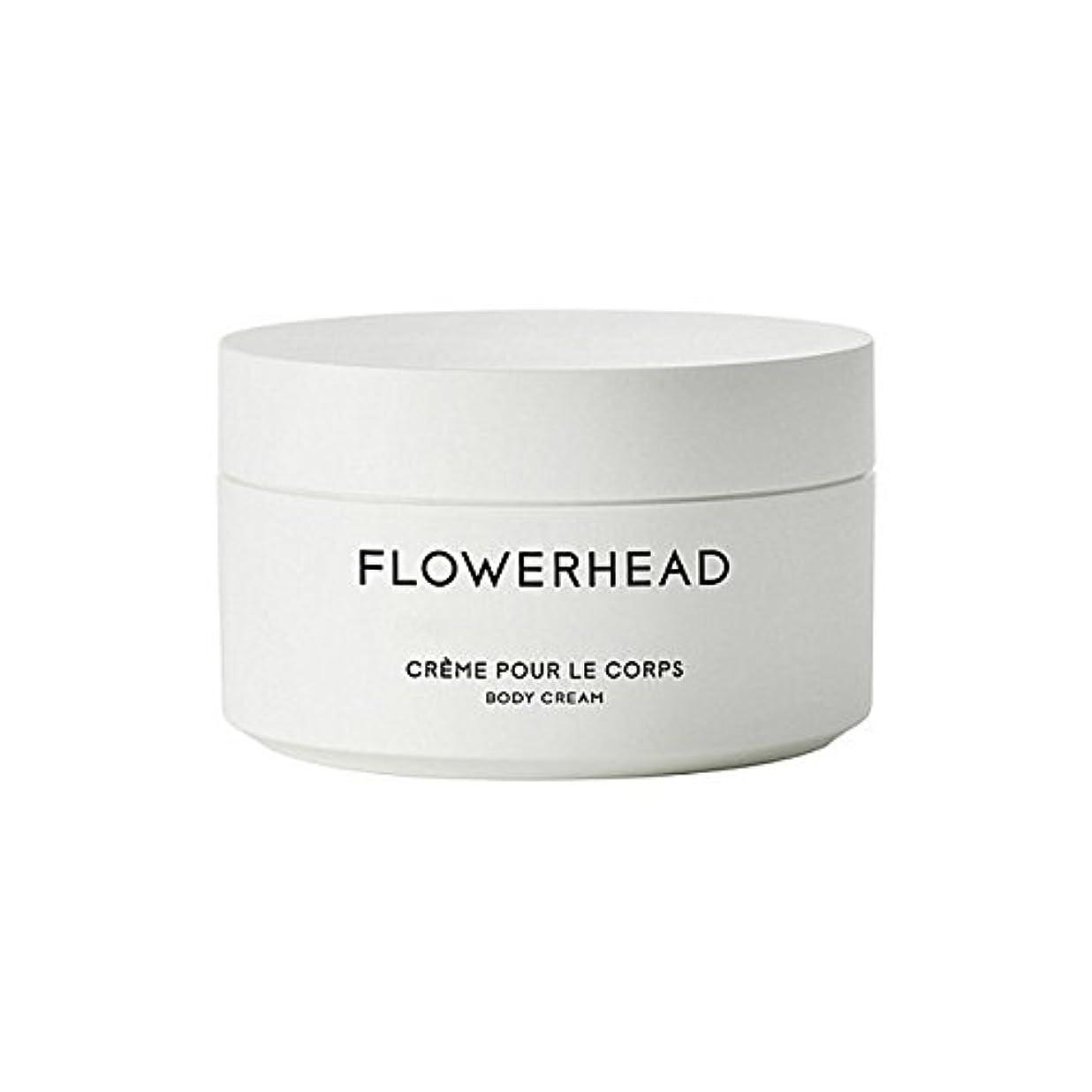 指標パックメタルラインボディクリーム200ミリリットル x4 - Byredo Flowerhead Body Cream 200ml (Pack of 4) [並行輸入品]