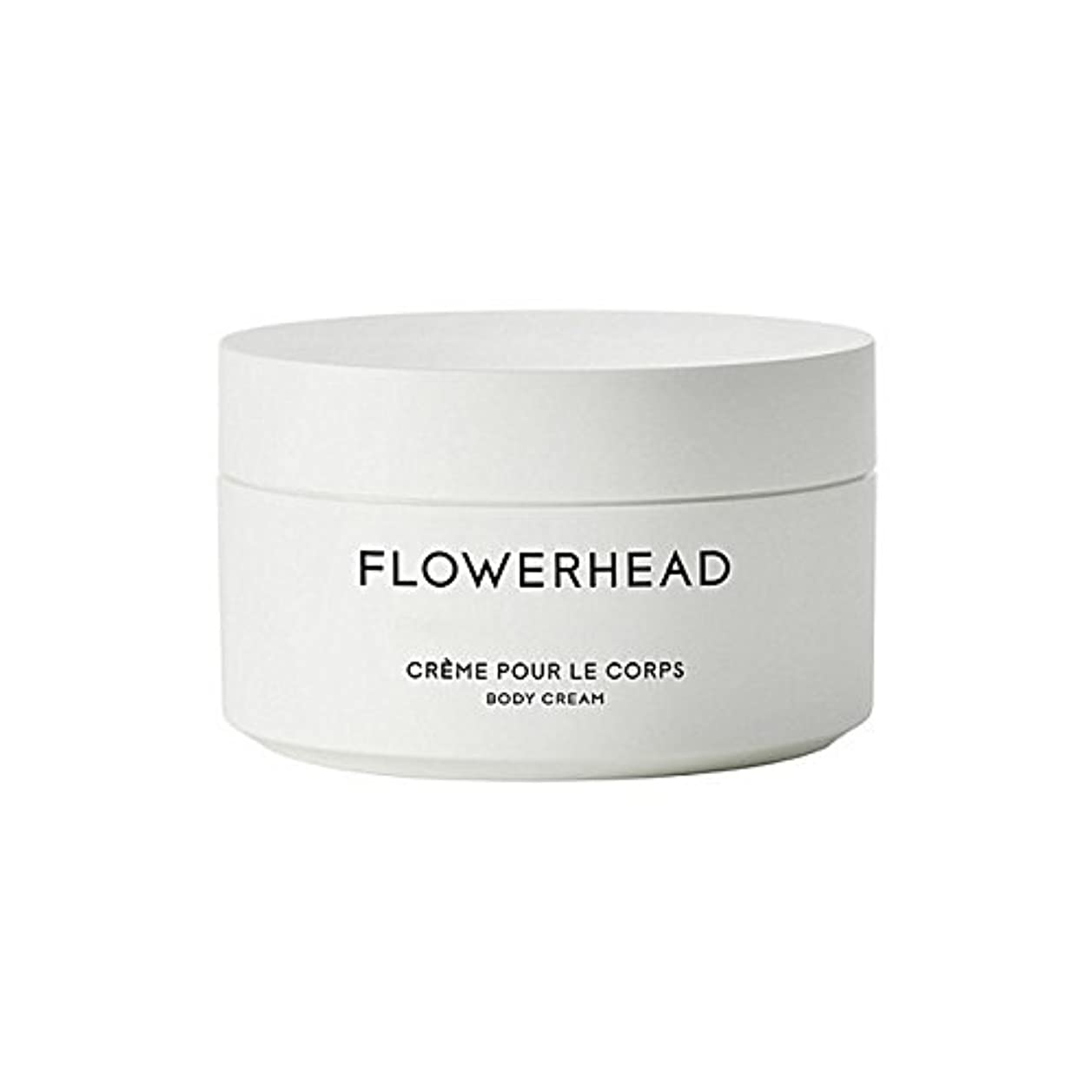 減る慎重スクレーパーByredo Flowerhead Body Cream 200ml - ボディクリーム200ミリリットル [並行輸入品]