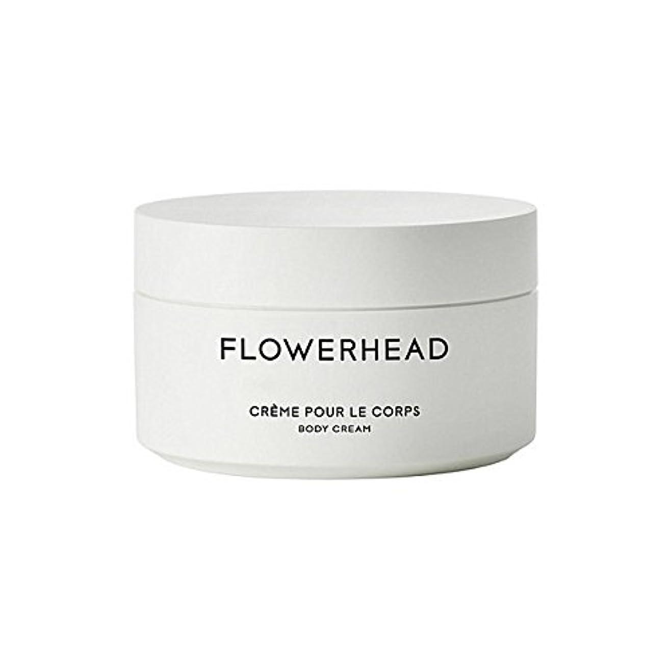 証言細胞センチメートルボディクリーム200ミリリットル x4 - Byredo Flowerhead Body Cream 200ml (Pack of 4) [並行輸入品]