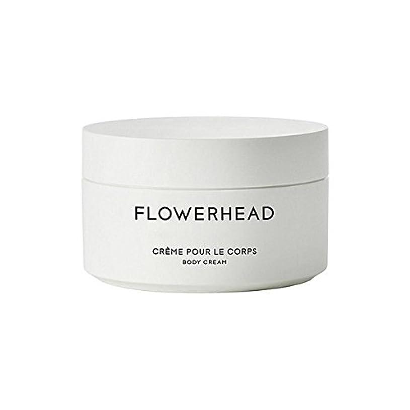 自動的に胚芽苛性ボディクリーム200ミリリットル x2 - Byredo Flowerhead Body Cream 200ml (Pack of 2) [並行輸入品]