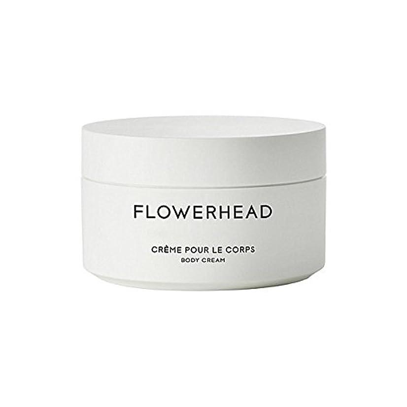 談話記事真面目なボディクリーム200ミリリットル x4 - Byredo Flowerhead Body Cream 200ml (Pack of 4) [並行輸入品]