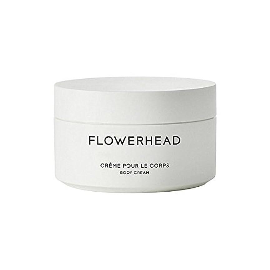 建てる盟主アジテーションボディクリーム200ミリリットル x4 - Byredo Flowerhead Body Cream 200ml (Pack of 4) [並行輸入品]