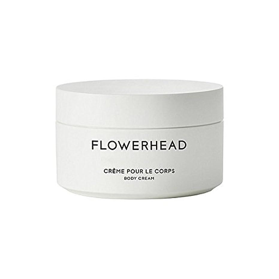 裏切り代理店割合ボディクリーム200ミリリットル x4 - Byredo Flowerhead Body Cream 200ml (Pack of 4) [並行輸入品]