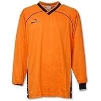 DIADORA ディアドラ サッカー ジャガード ゲームシャツ スポーツウェア L(172-178cm) 長袖 G2330 オレンジ 国内正規品