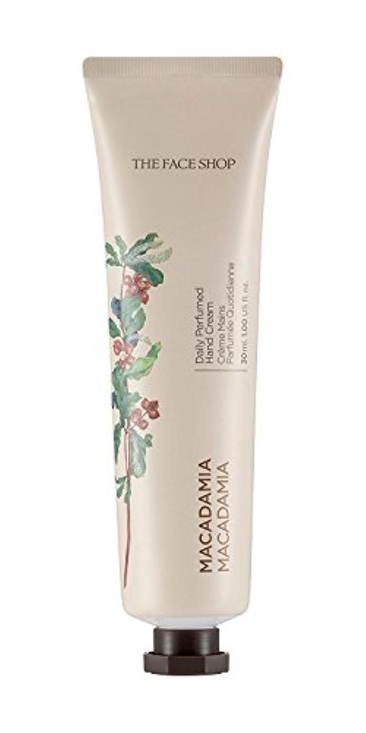 疼痛抱擁塗抹[1+1] THE FACE SHOP Daily Perfume Hand Cream [07. Macadamia] ザフェイスショップ デイリーパフュームハンドクリーム [07.マカダミア] [new] [並行輸入品]