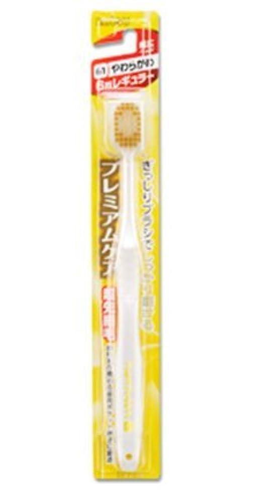 節約する失う純粋にエビス 歯ブラシ プレミアムケア 6列レギュラー やわらかめ12本セット