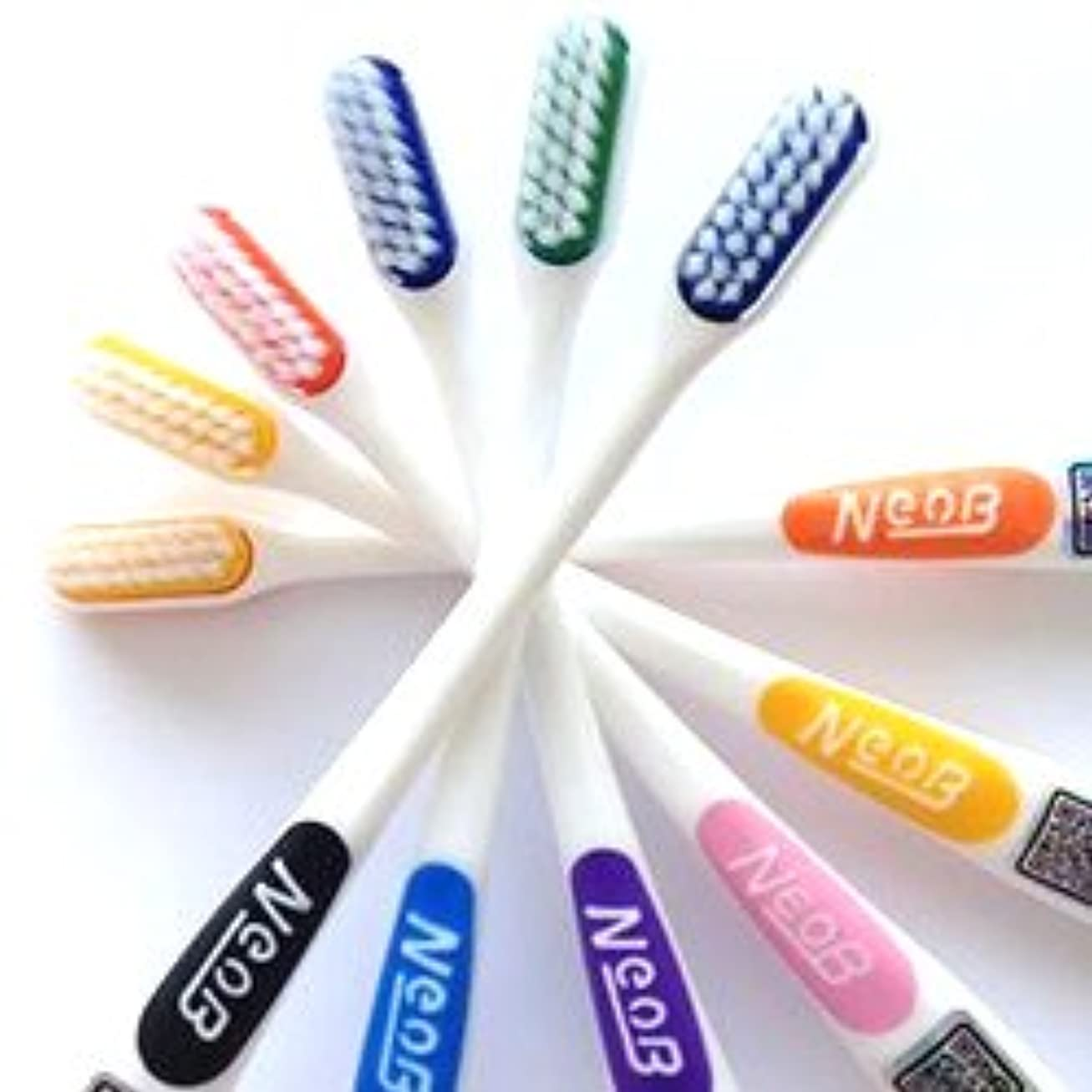 生理パス優先NeoB ネオビー 3列歯ブラシ