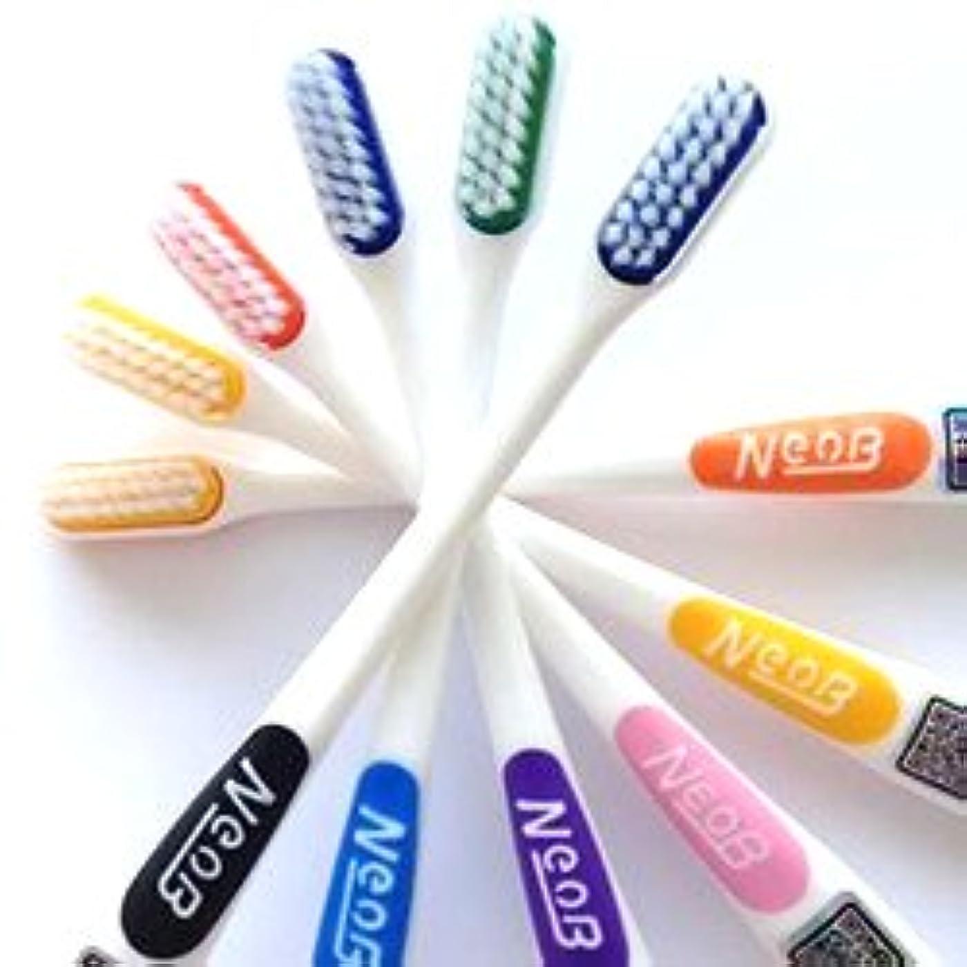 雑種むさぼり食うリラックスしたNeoB ネオビー 3列歯ブラシ