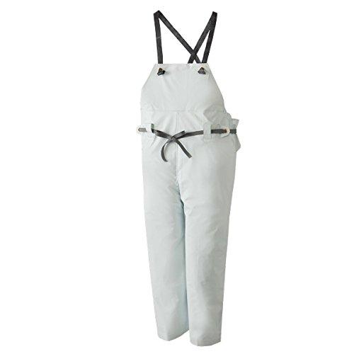 ロゴス 産業用レインウェア クレモナ水産 胸当付ズボン ゴム式) 10061610 ホワイト 特号