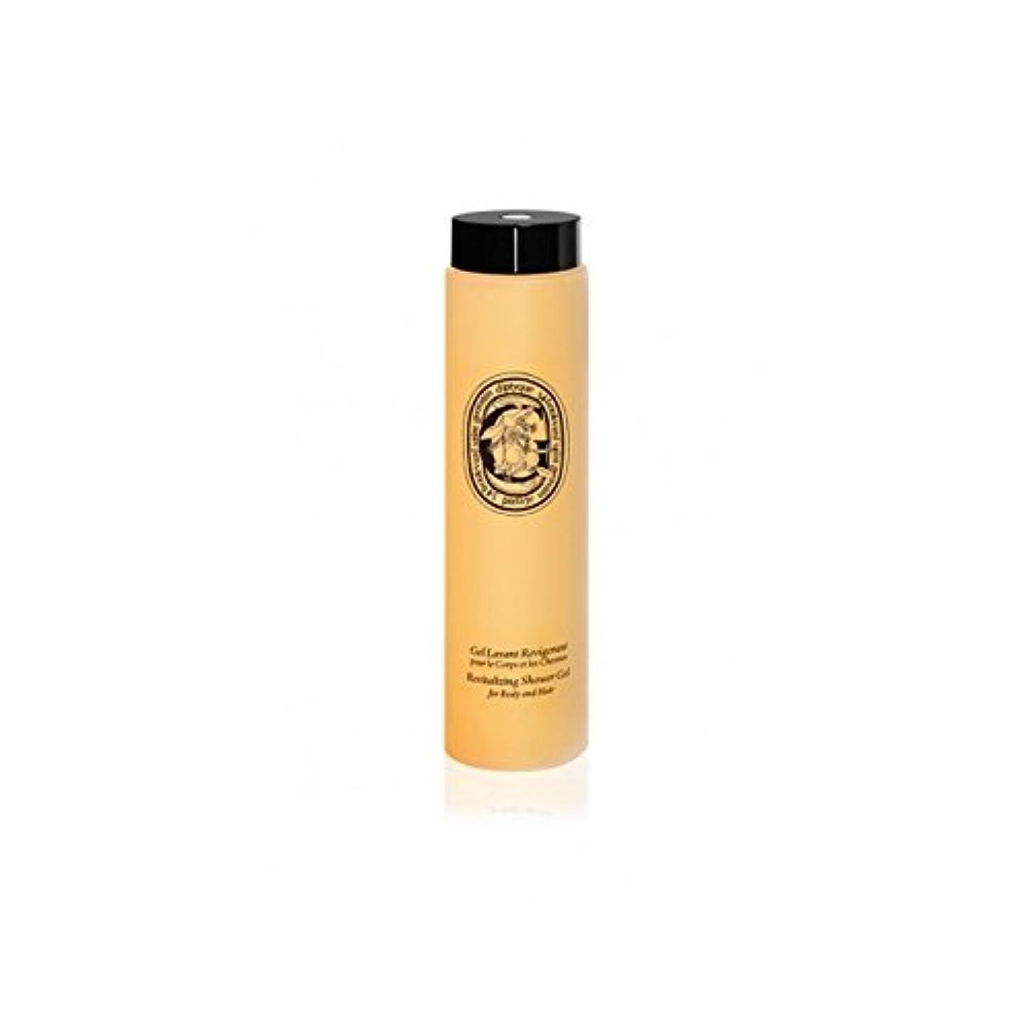従う急いで手書きDiptyque Revitalizing Shower Gel For Body And Hair 200ml (Pack of 2) - ボディ、ヘア200ミリリットルのためDiptyqueのリバイタライジングシャワージェル...