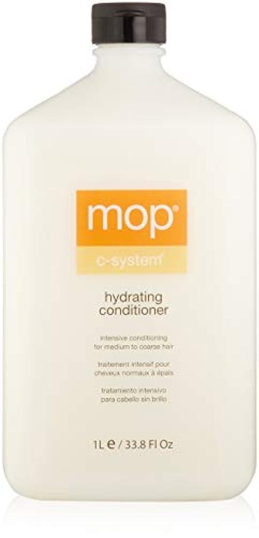 最終的にモザイク味付けMOP MOP C-System Hydrating Conditioner (For Medium to Coarse Hair) 1000ml/33.8oz並行輸入品