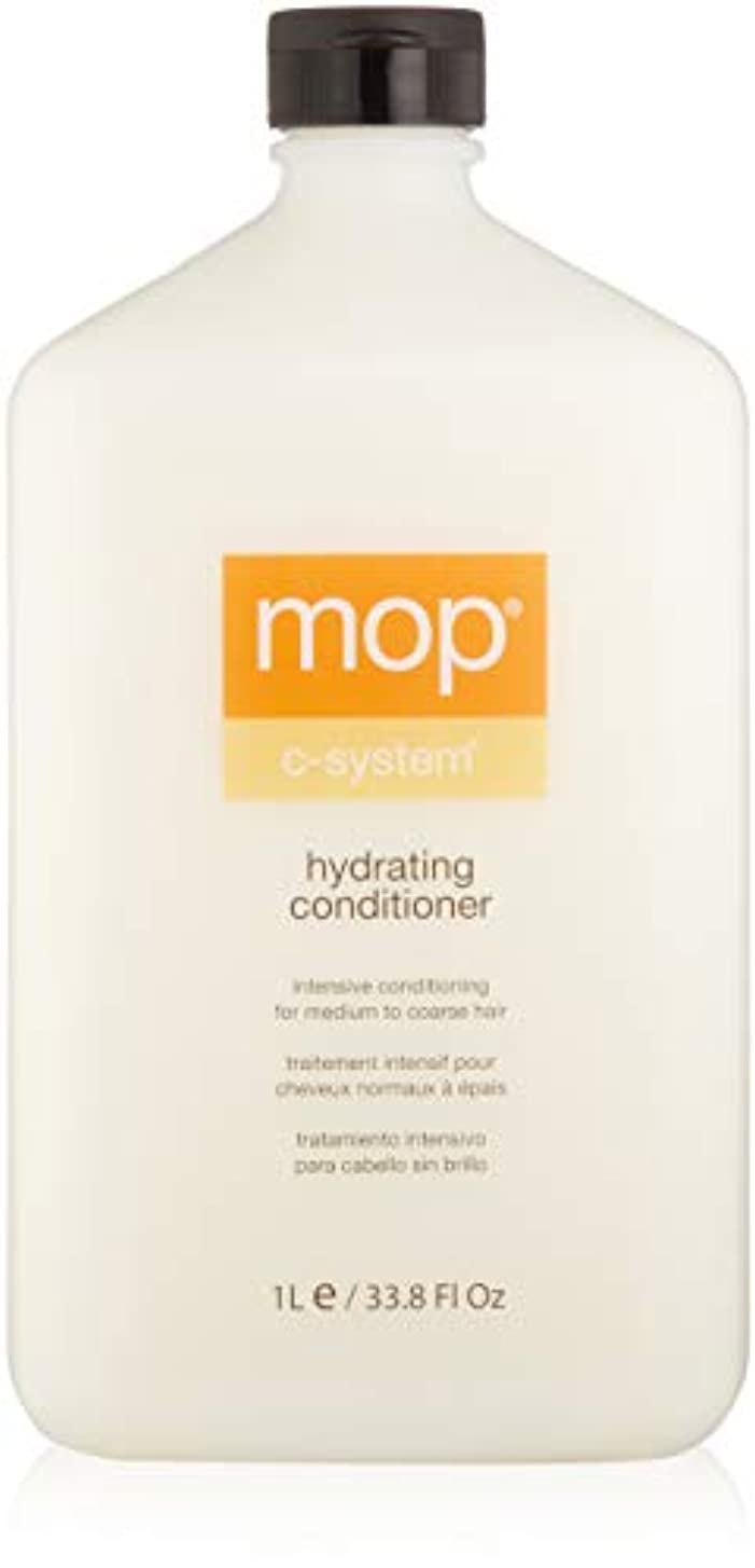 リテラシースキッパー唇MOP MOP C-System Hydrating Conditioner (For Medium to Coarse Hair) 1000ml/33.8oz並行輸入品