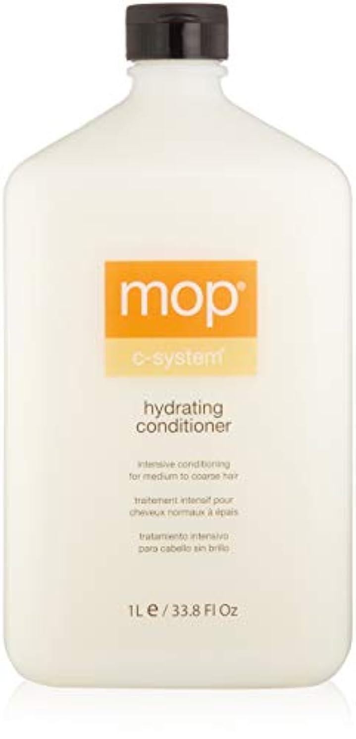シャワーバクテリア新しさMOP MOP C-System Hydrating Conditioner (For Medium to Coarse Hair) 1000ml/33.8oz並行輸入品