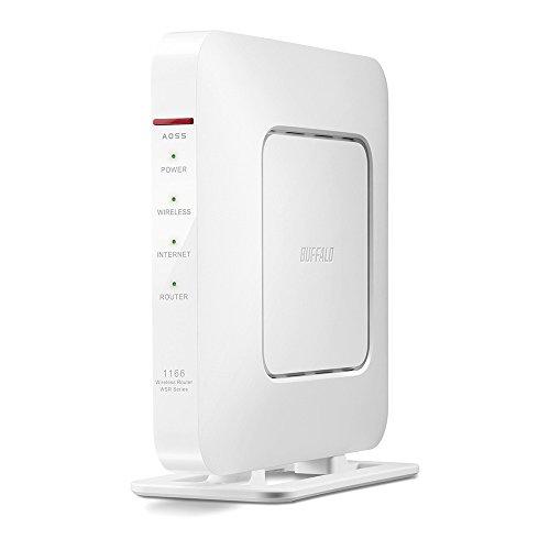 BUFFALO 11ac/n/a/b/g 無線LAN親機(Wi-Fiルーター) Giga ビームフォーミング対応 866+300Mbps WSR-1166DHP3-WHの詳細を見る
