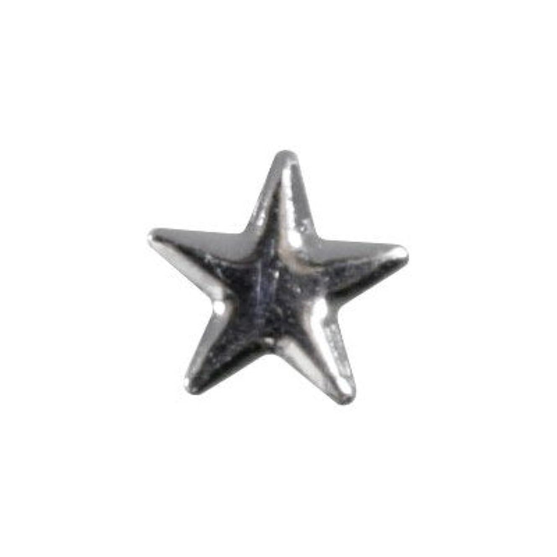 液体共和党図ピアドラ スタッズ メタルスター 5mm 30P シルバー