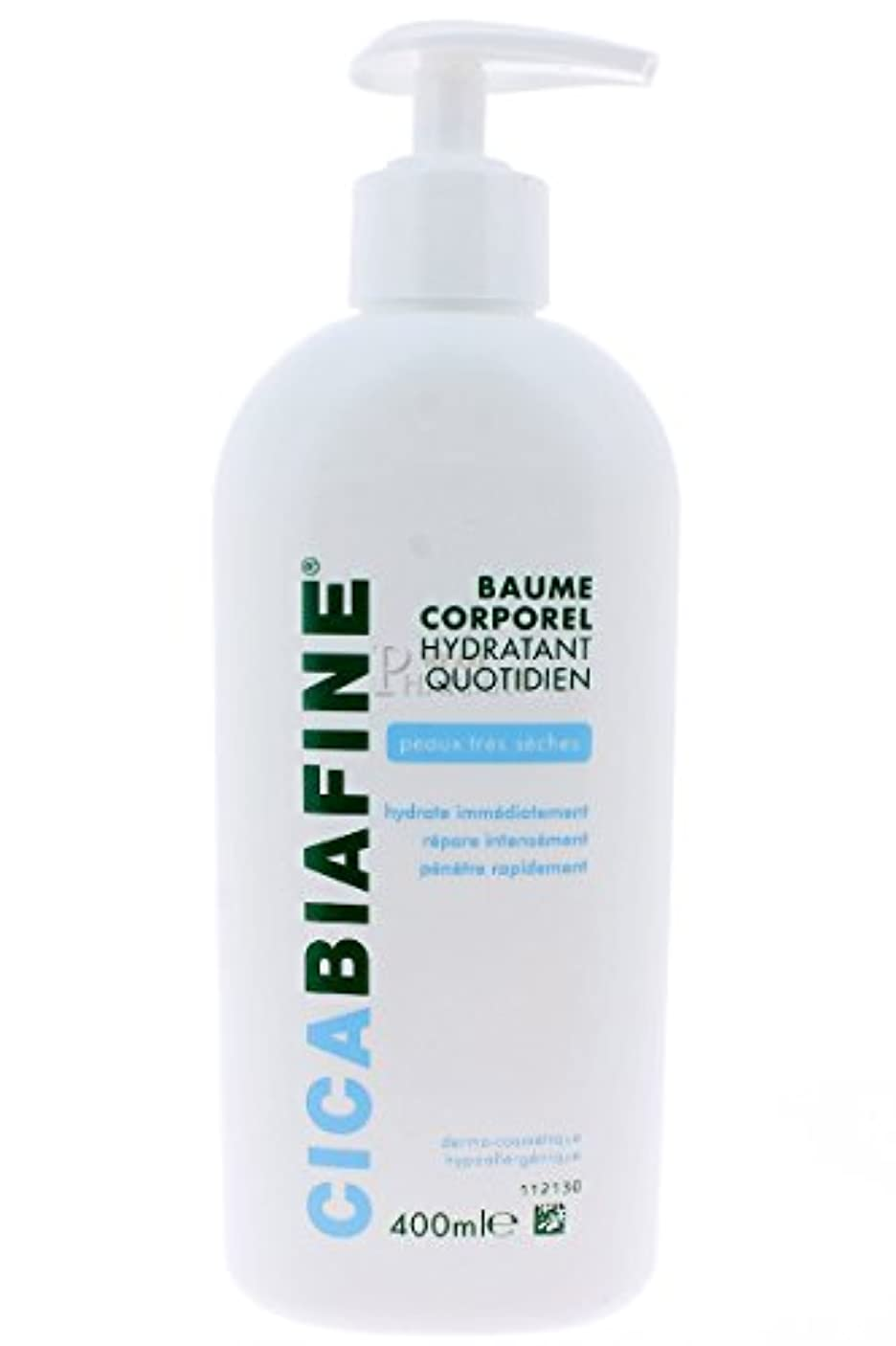 アナニバー助言植木CICABIAFINE Baume Hydratant Corporel Quotidien Peaux Tr鑚 S鐵hes (400 ml)