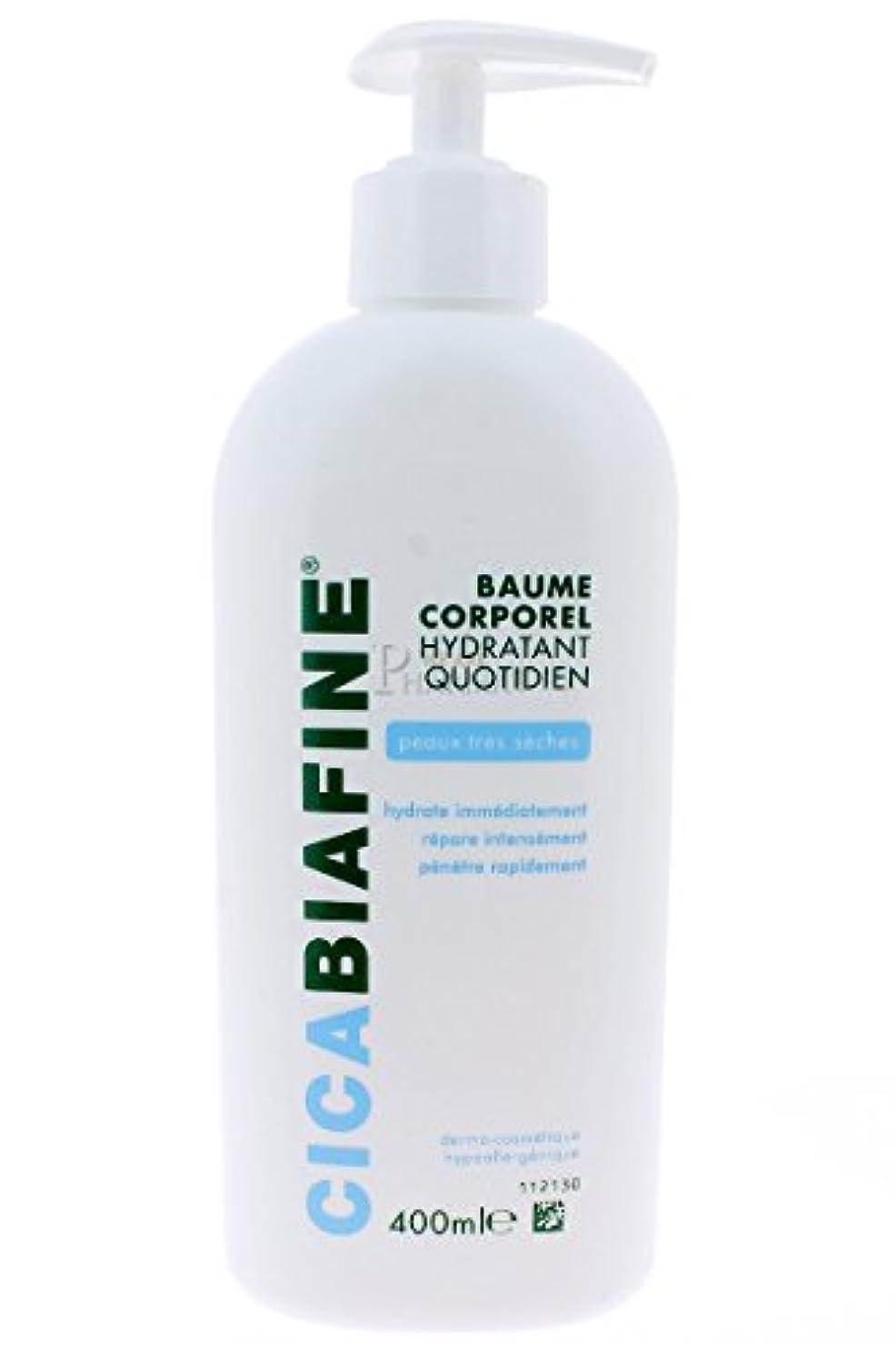 遺棄された仕様注釈を付けるCICABIAFINE Baume Hydratant Corporel Quotidien Peaux Tr鑚 S鐵hes (400 ml)