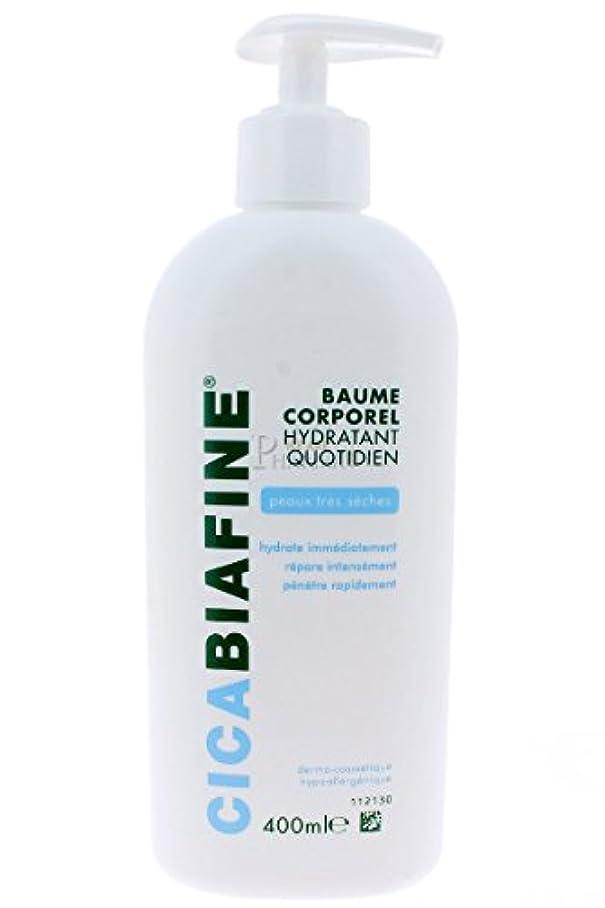 歴史的クモ瞑想CICABIAFINE Baume Hydratant Corporel Quotidien Peaux Tr鑚 S鐵hes (400 ml)