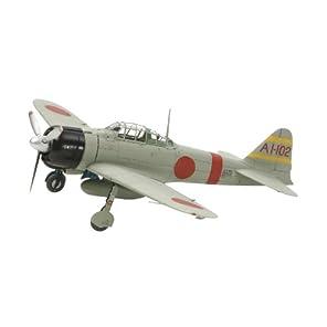 タミヤ 1/72 ウォーバードコレクション No.80 日本海軍 三菱 零式艦上戦闘機 21型 プラモデル 60780
