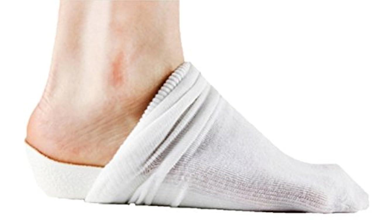 ハーフ心配するフェッチシークレット インソール 靴 を 脱いでも バレない 2.5 cm 身長 アップ 靴下 中敷 中底 パッド