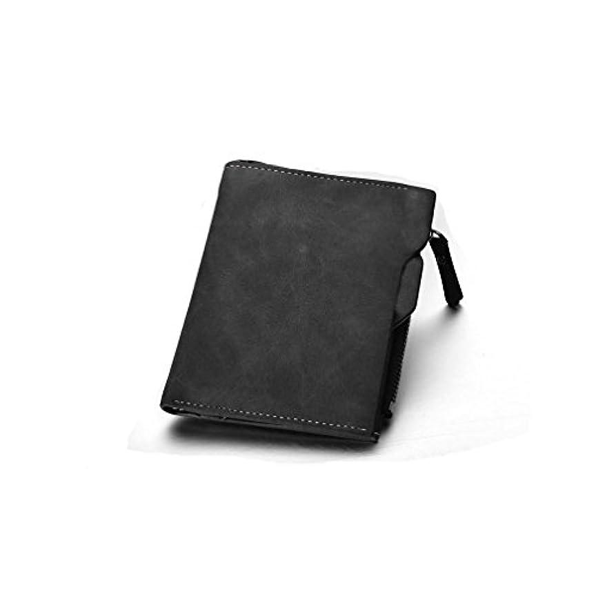 アセンブリ見積り見積り二つ折り財布 多機能 独立免許証ポケット 新型 メンズ 手帳型 多様カードポケット 復古 個性 小銭入れ PU皮革 防水 大容量 ファスナーポケット 硬貨入れ 高級