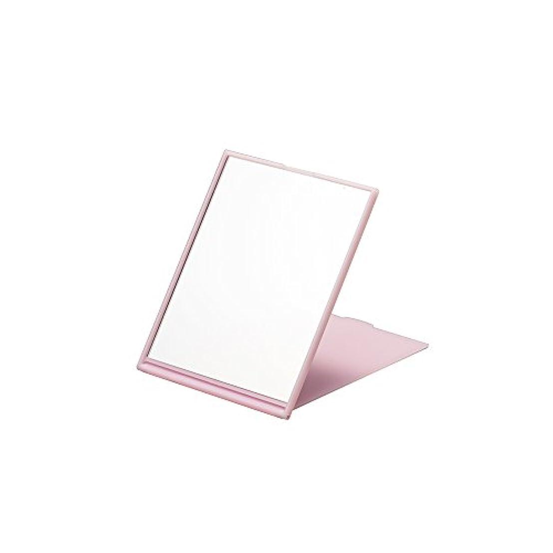 豊富な銀ネーピアナピュアミラー スリム&ライトコンパクトナピュアミラーM ピンク AM-006P