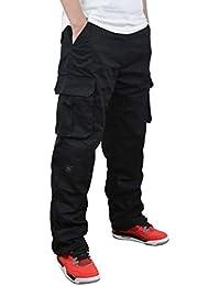 (オナーショップ)HonourShop メンズ カーゴパンツ 作業ズボン ゆったり ワークパンツ ミリタリー チノチノパンツ 大きいサイズ
