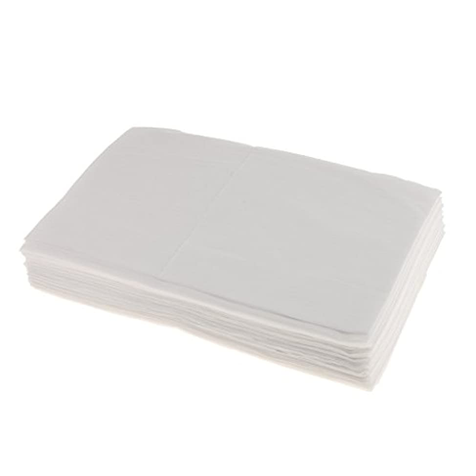ファントム六色SONONIA 10枚 使い捨て ベッドシーツ ベッドパッド カバー 妊産婦 生理期間 スキンケア 美容院 サロン ホテル 2色選べ - 白