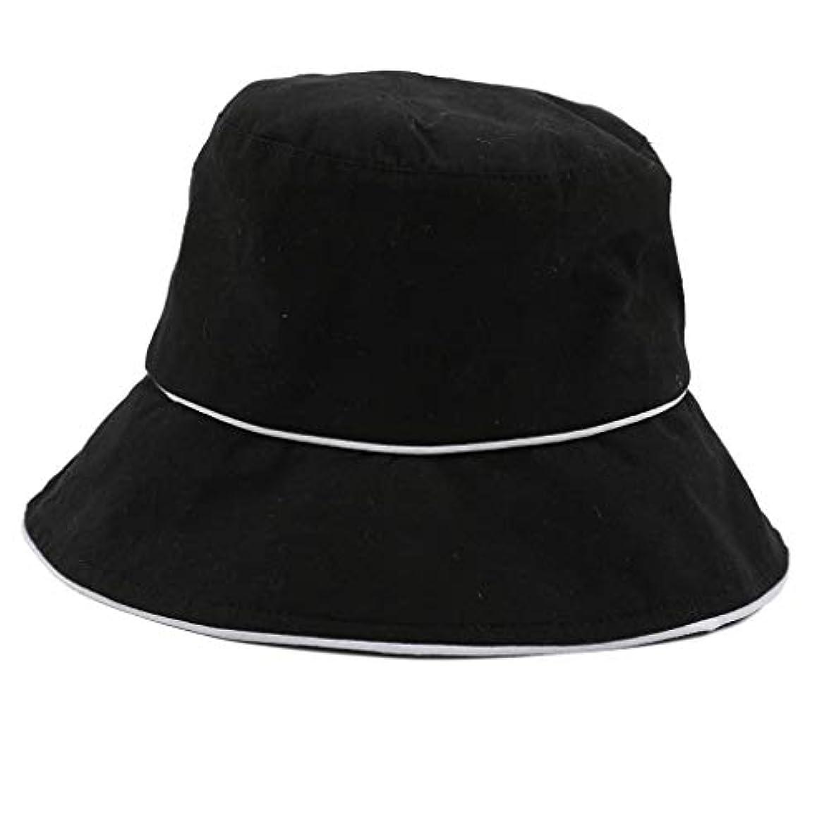 管理しますキャンドル類似性ROSE ROMAN - 帽子 レディース uv 漁師の帽子 99%uvカット 小顔効果抜群 帽子 サイズ調整 テープ キャップ 黒 漁師帽 おしゃれ 可愛い ハット 折りたたみ 紫外線対策 ファッション ワイルド カジュアル...